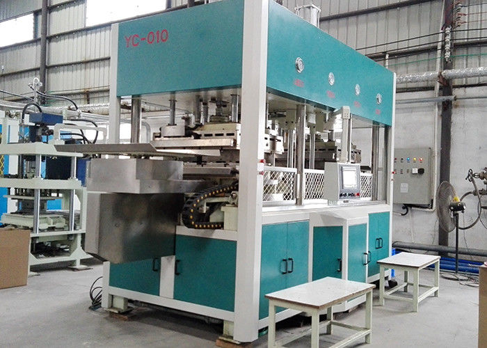Electricity / Conduction Oil Automatic Molding Pulp Molding Equipment 30 ~ 300 kg/h Capacity