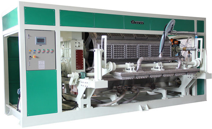 Touch Screen Rotary Type Pulp Molding Production Line Forming Fruit Tray