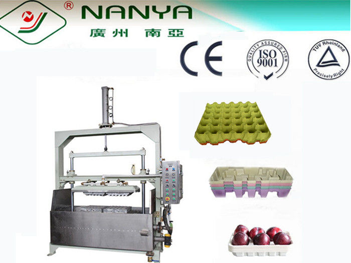 400Pcs/H Energy Saving Waste Paper Pulp Tray Machine / Waste Paper Recycling Machine